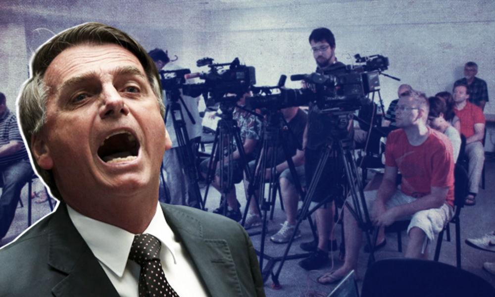 I Feel Like Punching You In Your Mouth: Brazil President Jair Bolsonaro Threatens Journalist
