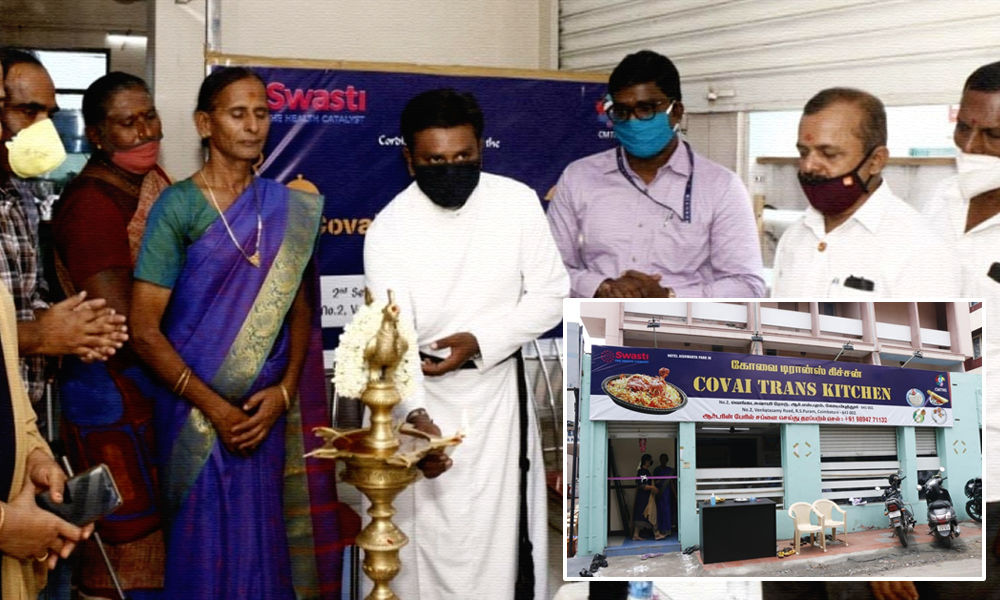 Transgenders Start Covai Trans Kitchen In Coimbatore To Fight Financial Crunch Amid COVID-19
