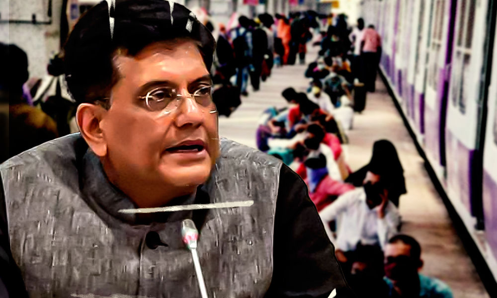 97 People Died On Board Shramik Special Trains: Railway Minister Piyush Goyal In Parliament