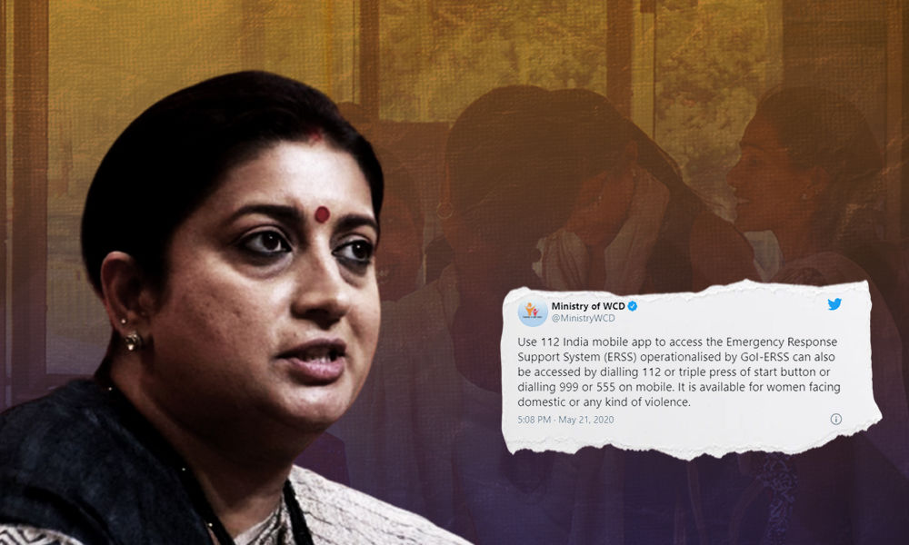 Centre Launched Nationwide Safety App For Women In Distress: WCD Minister Smriti Irani In Lok Sabha