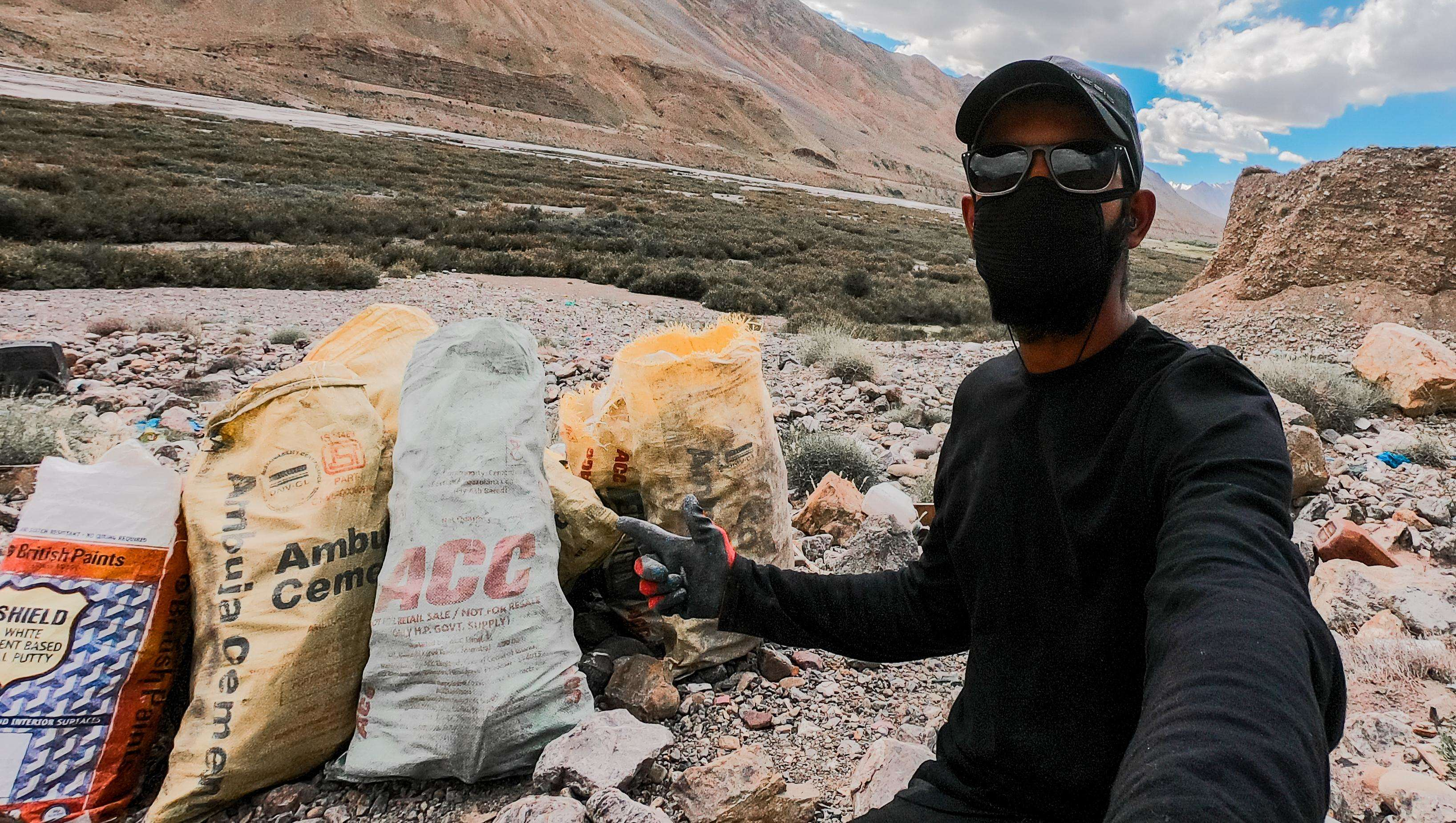 Meet Aakash Ranison, 26-Yr-Old Travelpreneur, Climate Activist Who Uses Social Media To Drive Change