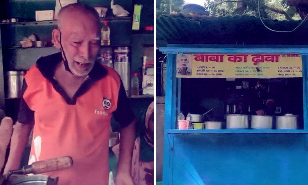 Baba Ka Dhaba Sees Huge Crowd Of Visitors After Twitter Appeal To Help Elderly Couple
