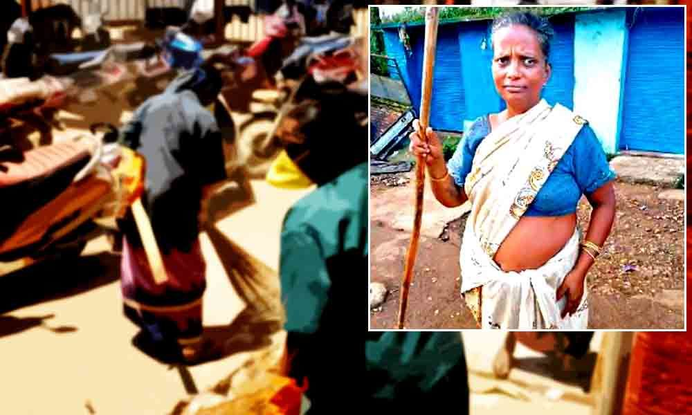 Unsung Hero: This Odisha Sanitation Worker Performs Her Duty Despite Being Unpaid For Several Months