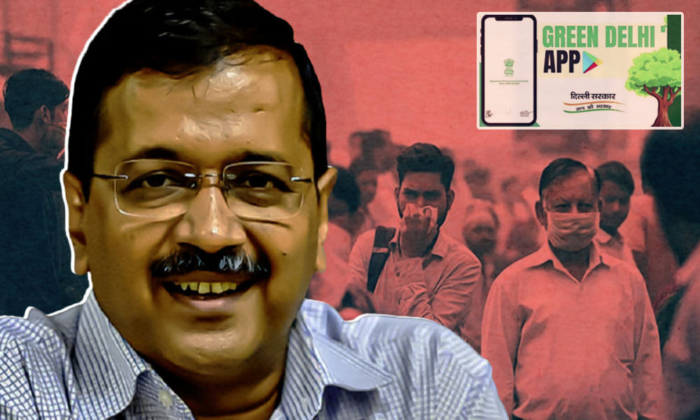 Arvind Kejriwal Launches Green Delhi App To Combat Air Pollution In Capital