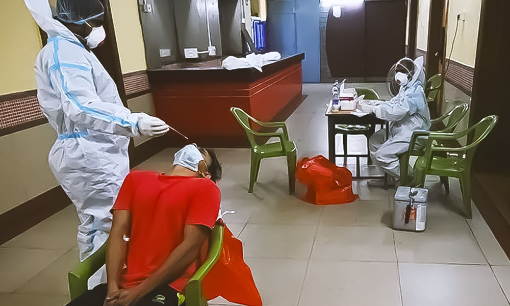 India Records 46,253 Fresh COVID Cases, 514 Deaths In 24 Hours: 10 Points