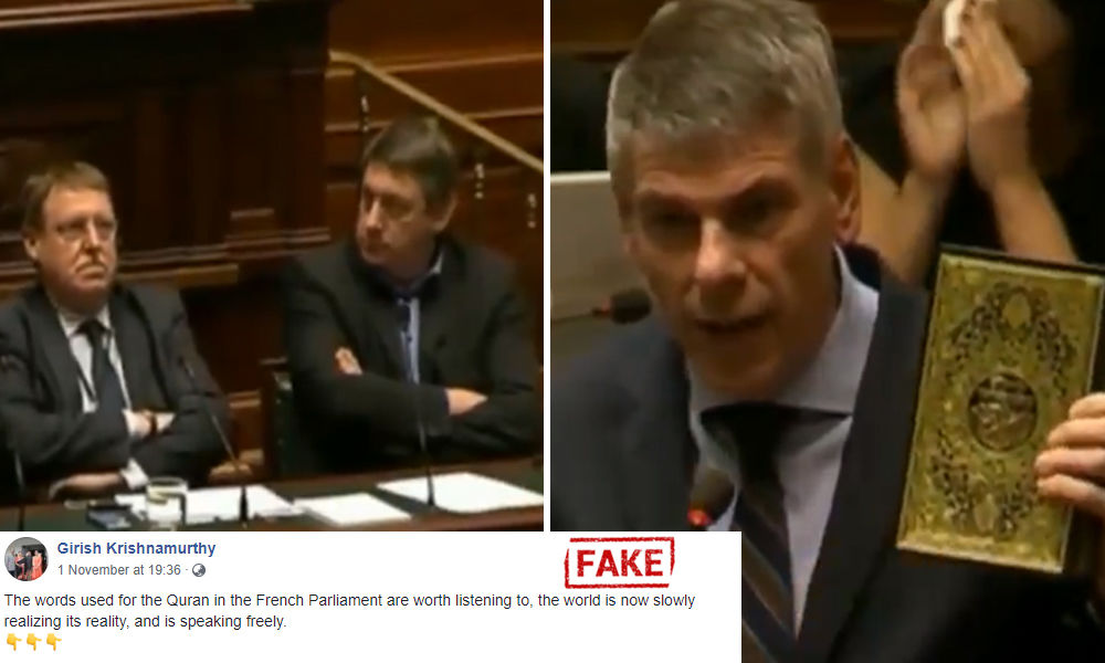 Fact Check: Old Video From Belgium Shared As French Parliament Insulting Quran