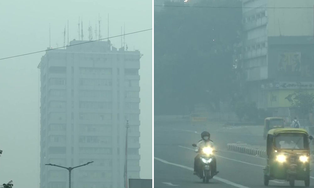 Delhi-NCR Air Quality Remains In Severe Category After Diwali, People Seen Defying Firecracker Ban