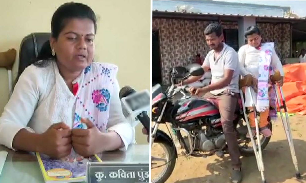 Maharashtra: 34-Year-Old Specially-Abled Woman Becomes Sarpanch Of Two Villages