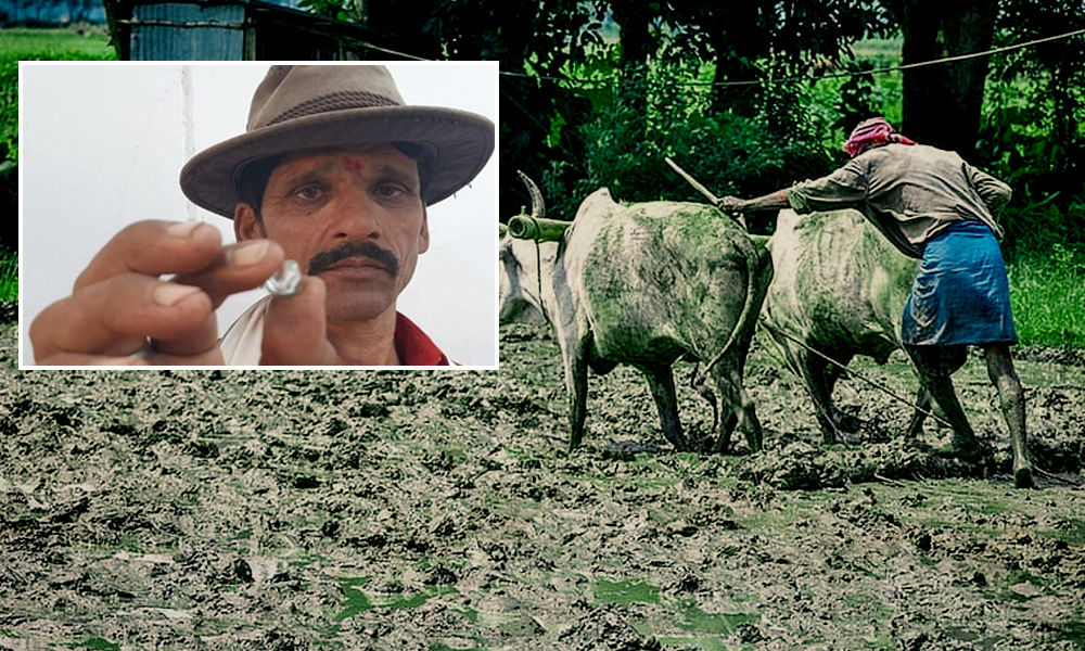 MP Farmer Rises From Rags To Riches After Finding Rs 60 Lakh Diamond In Land He Leased For Rs 200
