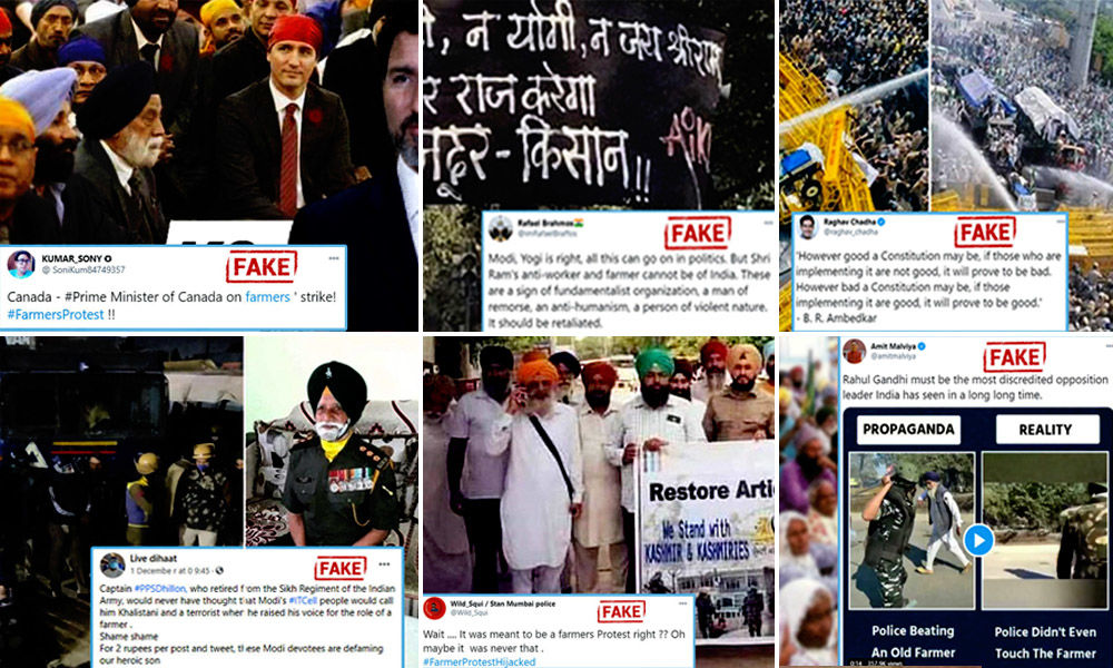 Top Six Fake News Stories Shared About Ongoing Farmers Protests In Delhi