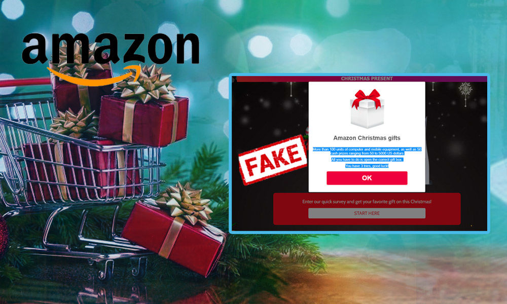 Fact Check: No, Amazon Is Not giving Away Prizes As Christmas Present