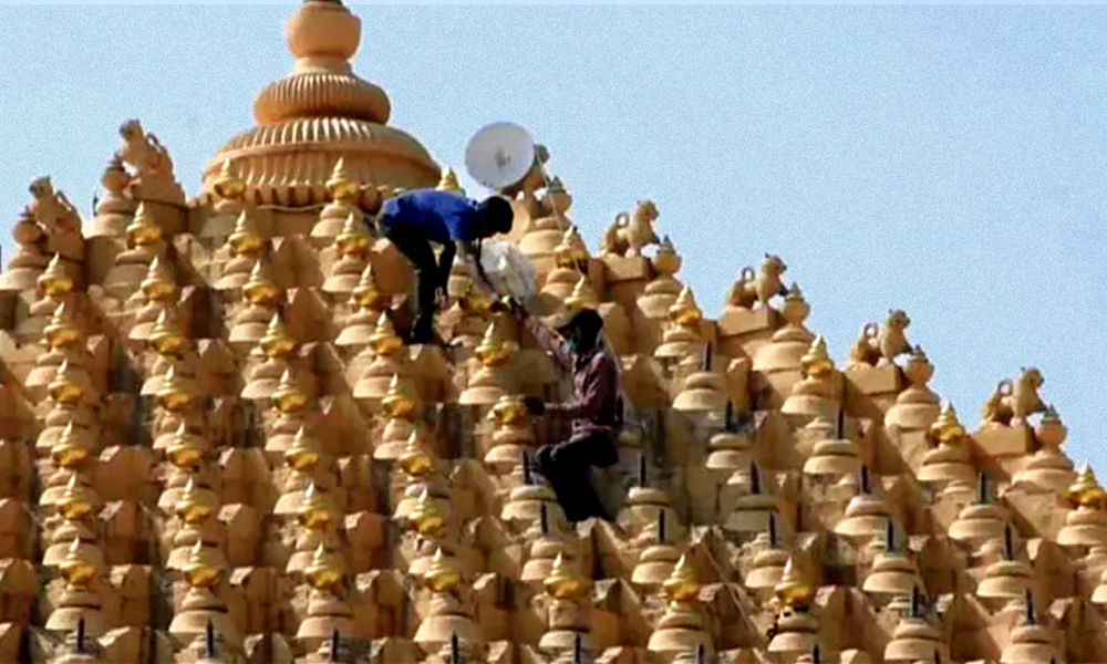 Gujarat: Somnath Temple To Be Decorated With 1,400 Gold Plated Kalash