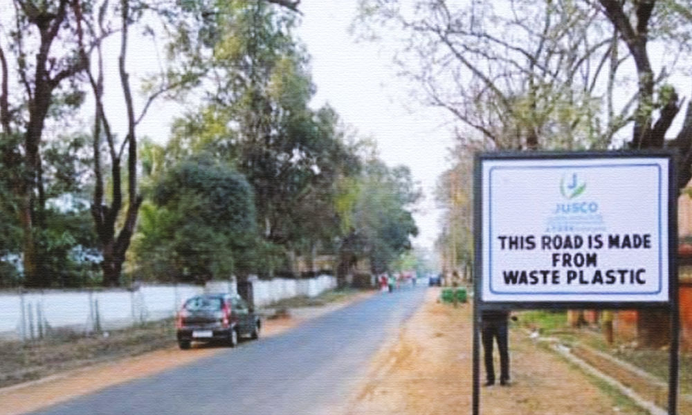 Uttar Pradesh: Single-Use Plastic Waste To Be Used For 1500 Km Road Construction