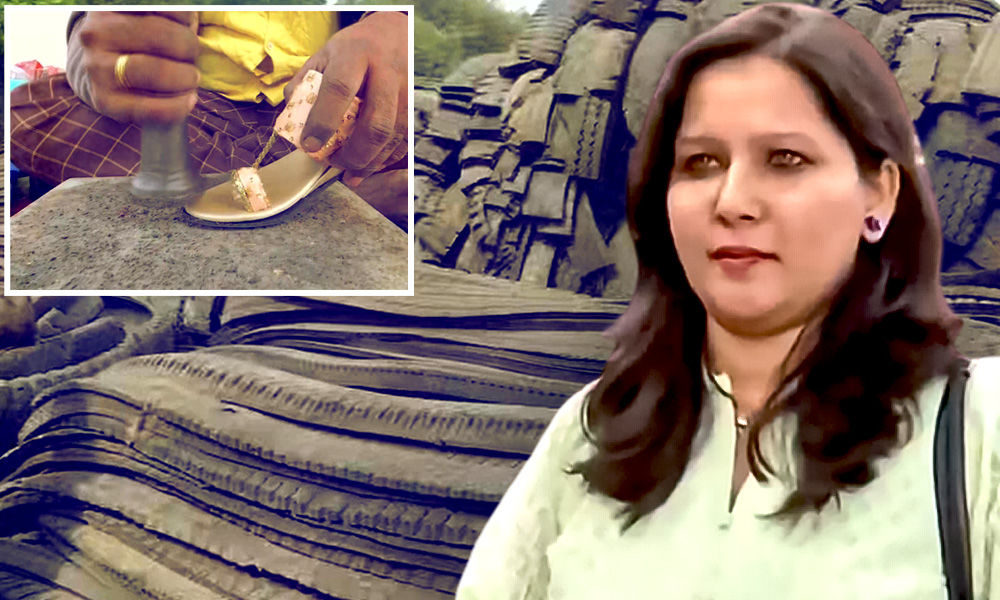 What An Idea! Pune Entrepreneur Upcycles Discarded Tyres To Make Footwear, Raise Environment Awareness