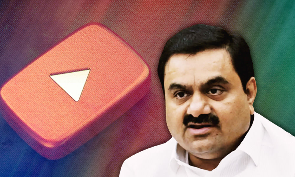 Mumbai Man, YouTube Channel Barred For Allegedly Reporting Defamatory Stories On Adani Group