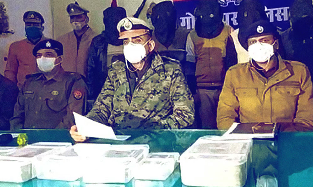 Sub-Inspector Among Six Arrested In UP For Looting Jewellers On Pretext Of Checking Drive