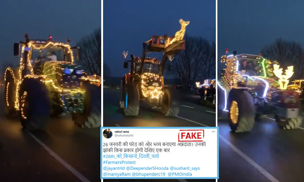 Fact Check: Video From Ireland Shared With Fake Claims Of Farmers Practicing For Republic Day