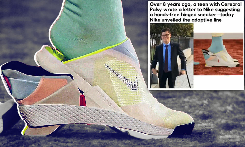 Easy Off, Easy On: Nike Unveils Hands-Free Sneakers For People With Special Needs