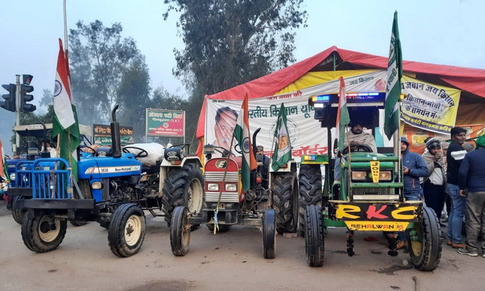 Opinion: Indian Farmers Protest Echoes Sentiments Of Tractorcade In Washington DC In 1979
