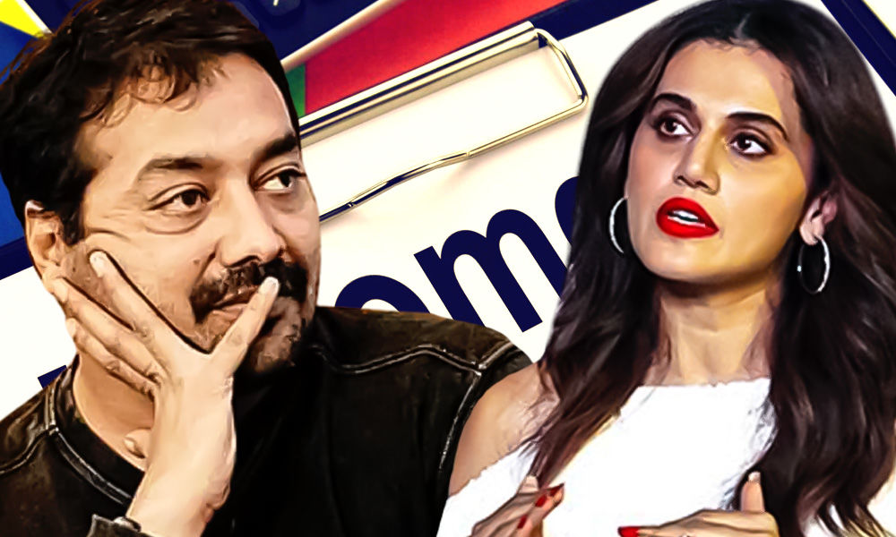 Discrepancy, Income Manipulation Worth Crores, Says Income Tax Dept After Raids On Taapsee Pannu, Anurag Kashyap