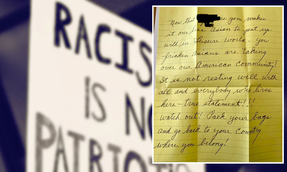 One Less Asian To Put Up With: Handwritten Letter After Mans Death In US Strikes Fear