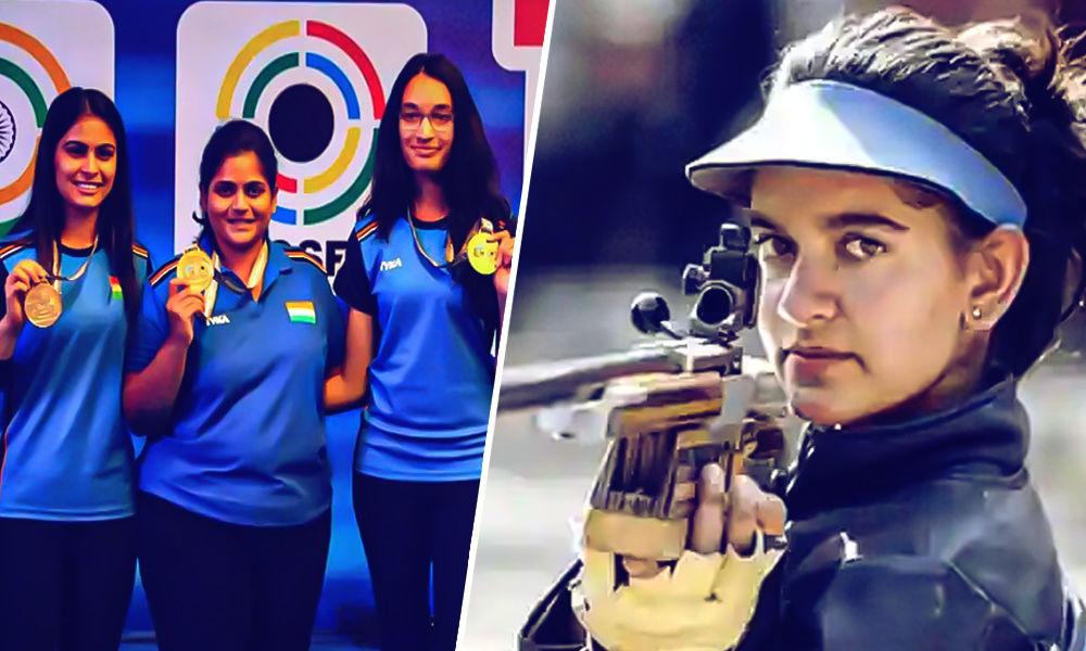 Indian Women Shine In International Shooting World Cup; Bag Gold, Silver, Bronze