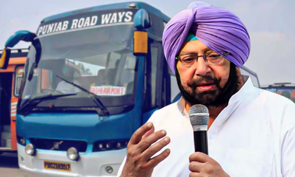Punjab To Provide Free Travel For Women Across State In Govt Buses From April 1