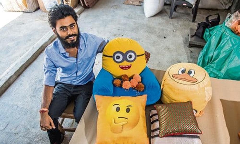This Noida-Based Start-Up Turns Cigarette Waste Into Soft Toys, Cushions