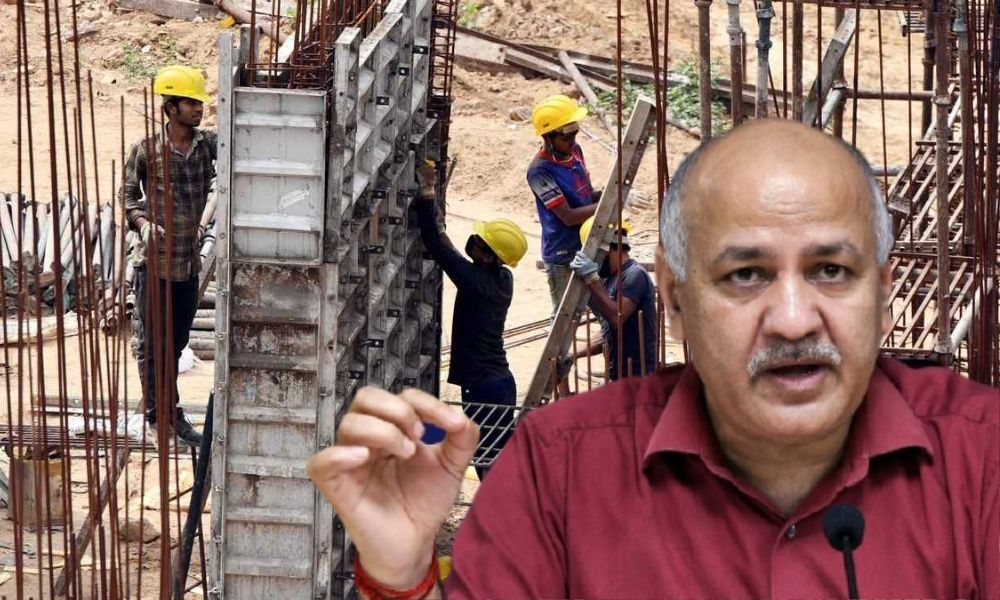 Delhi  Govt To Give Rs 10,000 Each To 1,825 Construction Workers As COVID Relief