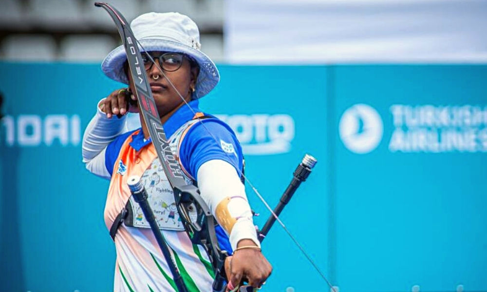 Deepika Kumari Becomes World No. 1 Archer, Bags Triple Gold For India At Archery World Cup