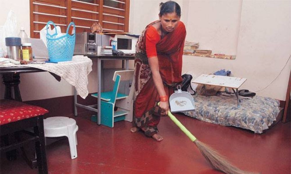 As COVID Forces Households To Slash Budgets, Domestic Workers Feel The Pinch