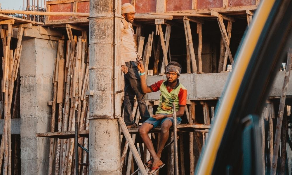Occupational Hazard: No Protection For Workers In India At Construction Sites