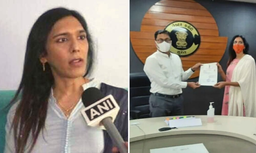 A Rebirth: Alisha Patel Becomes First Transwoman To Be Recognised By Gujarat Govt, Receives Identity Card