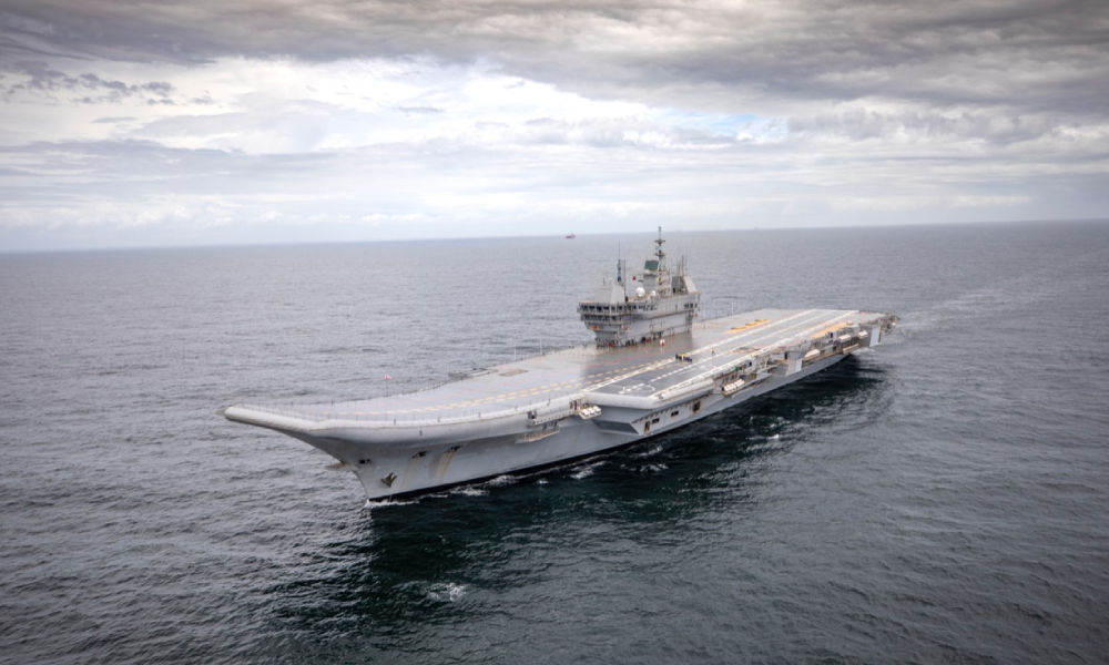 INS Vikrant: First Made-In-India Aircraft Carrier Sets Sail For Maiden Trials