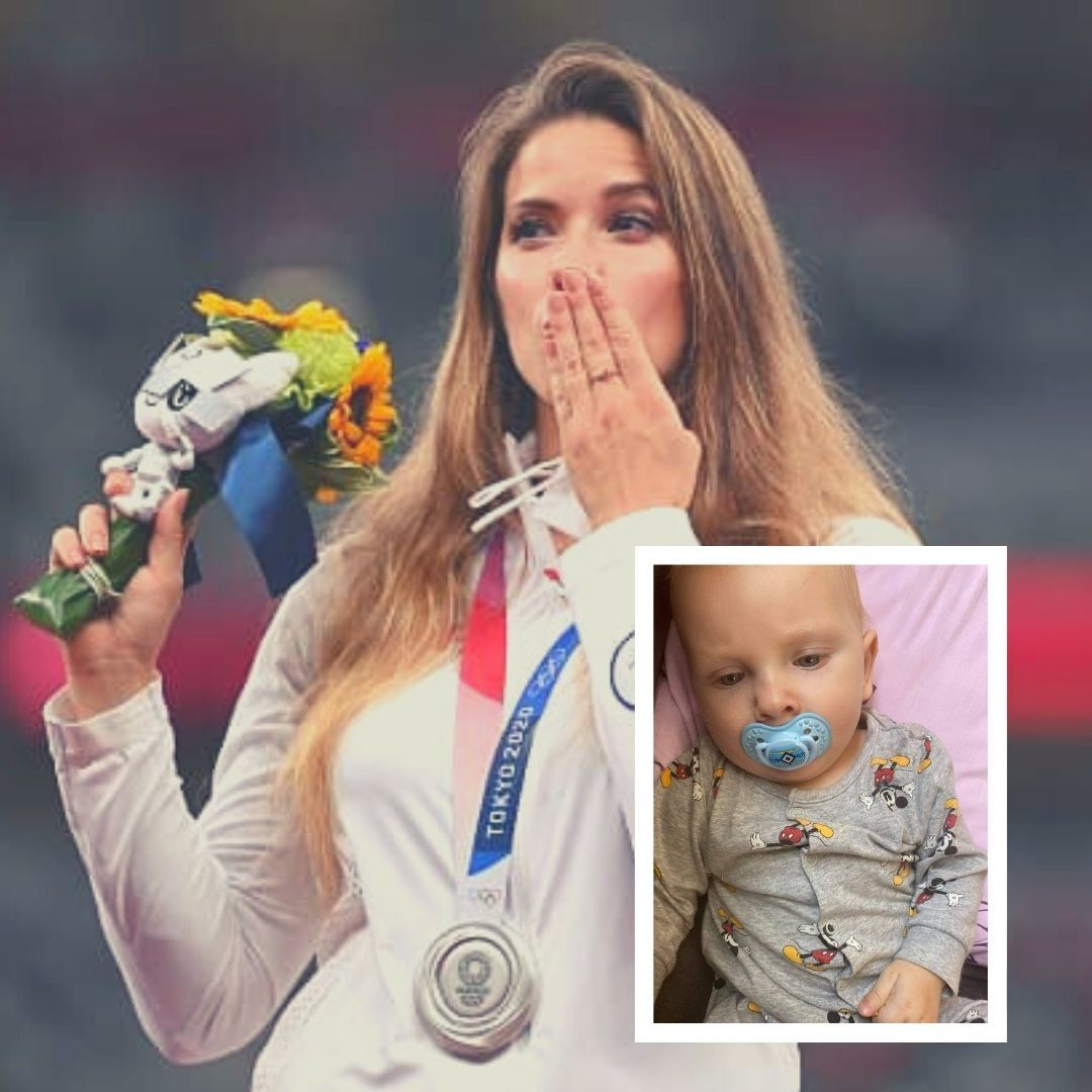 Polands Javelin Thrower Auctions Her Olympic Silver Medal To Raise Funds For 8-Month-Olds Heart Surgery