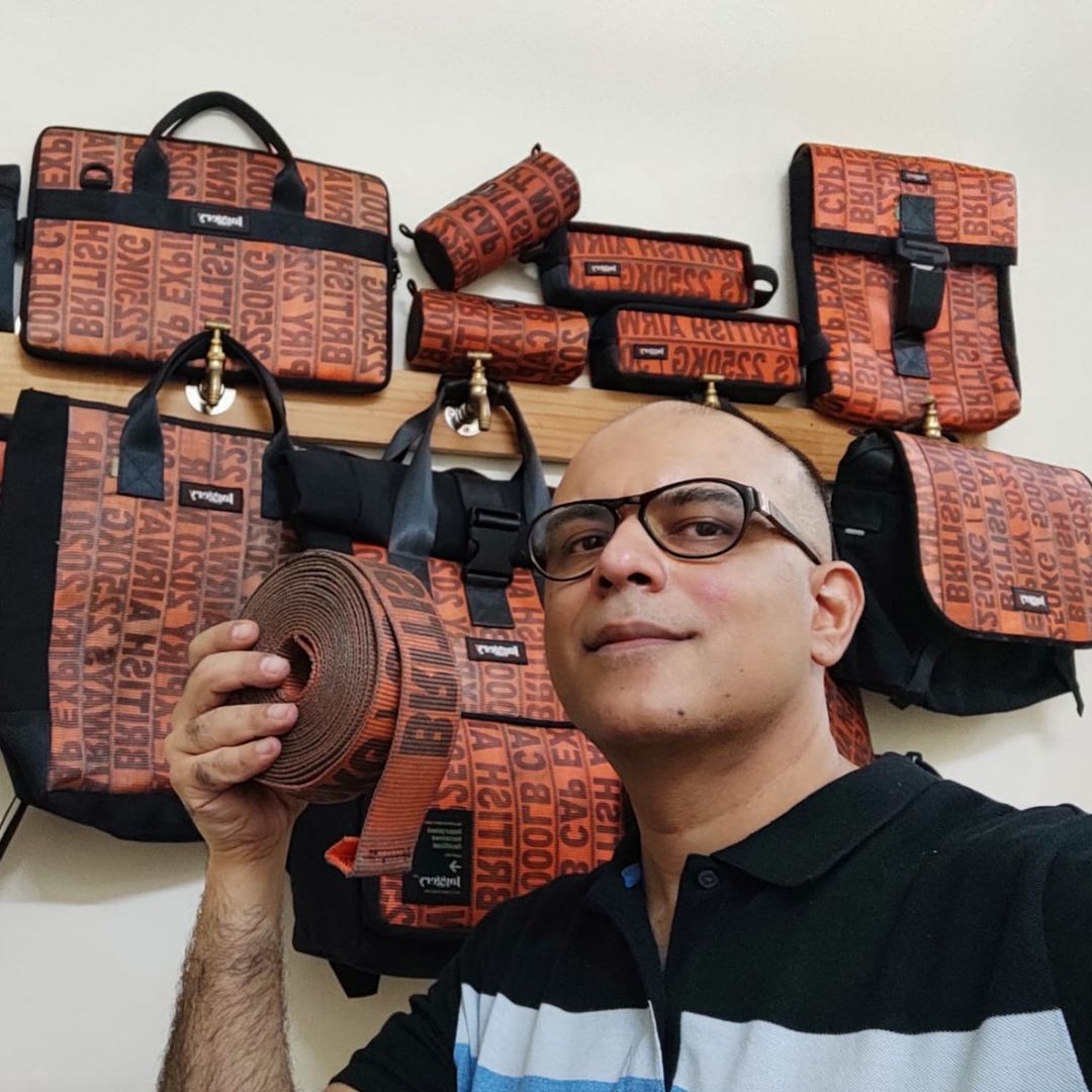 All Hail Eco-Friendliness! This Gurgaon-Based Startup Recycles Old Car Seatbelts To Make Bags