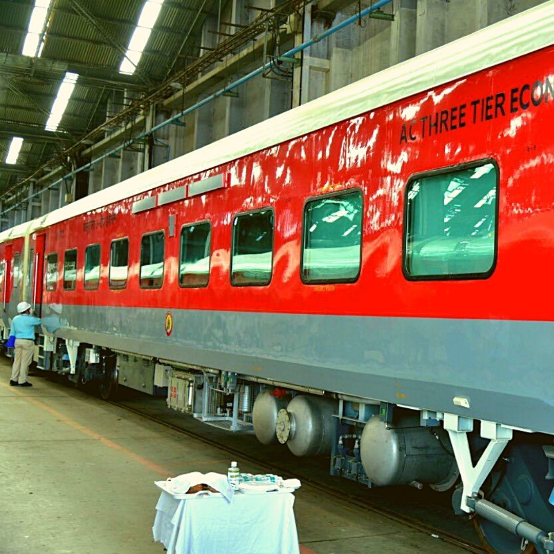 Private Players Can Now Lease, Buy Train Coaches