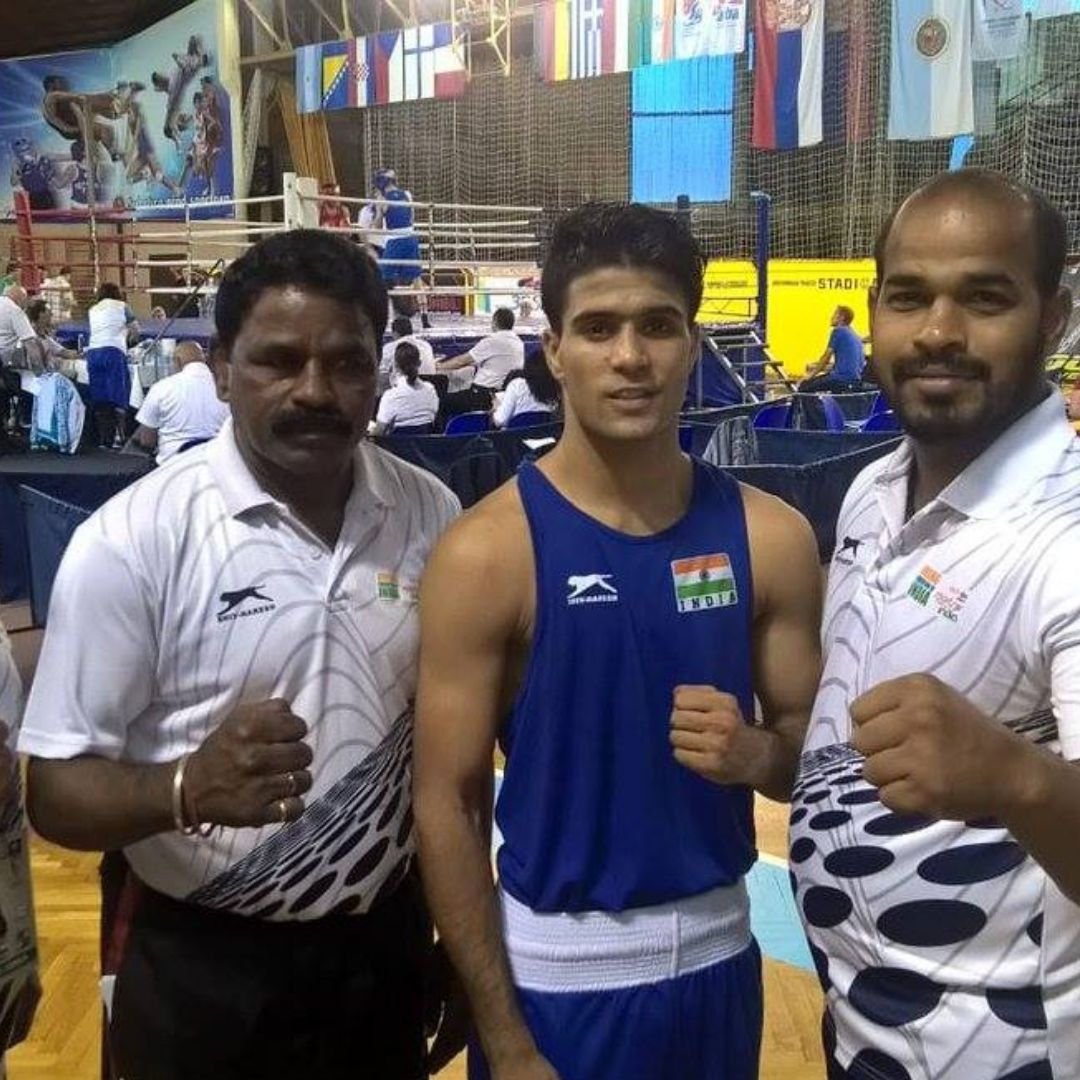 Boxer Wins National Title, Unaware Of His Mothers Demise