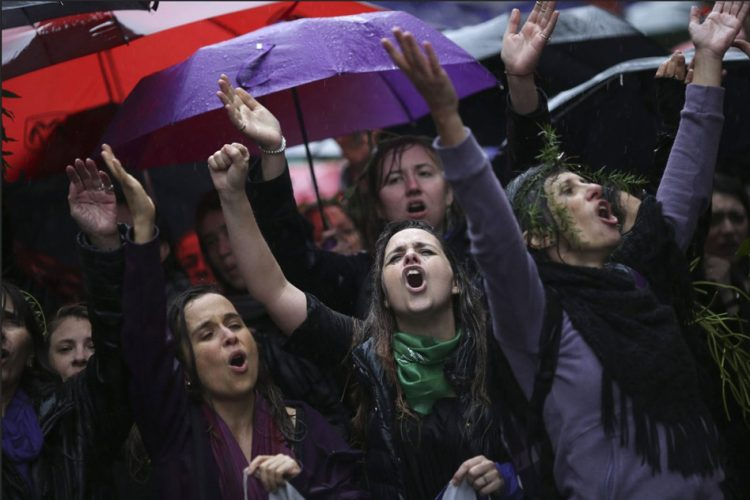 Argentina Protest Against Femicide