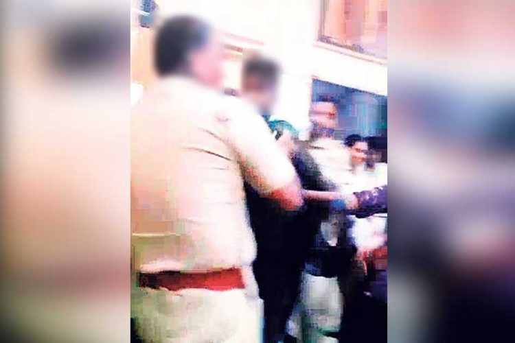 Police Beat Minors Inside Police Station