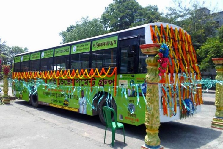 India's First Biogas-Fuelled Bus Launched In Kolkata