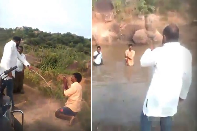 Dalit Telangana Dirty Pond