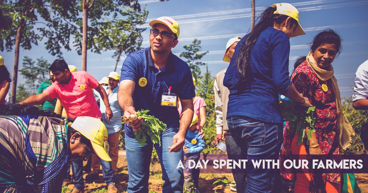 What Happens When You Make Urban People, Farmers For A Day?