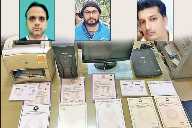 Delhi Police Busts Fake Degree Racket Where 50,000 Forged