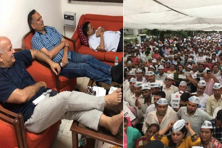 Four Days Of Delhi Ministers' Dharna In L-G; Know What Their Demands Are