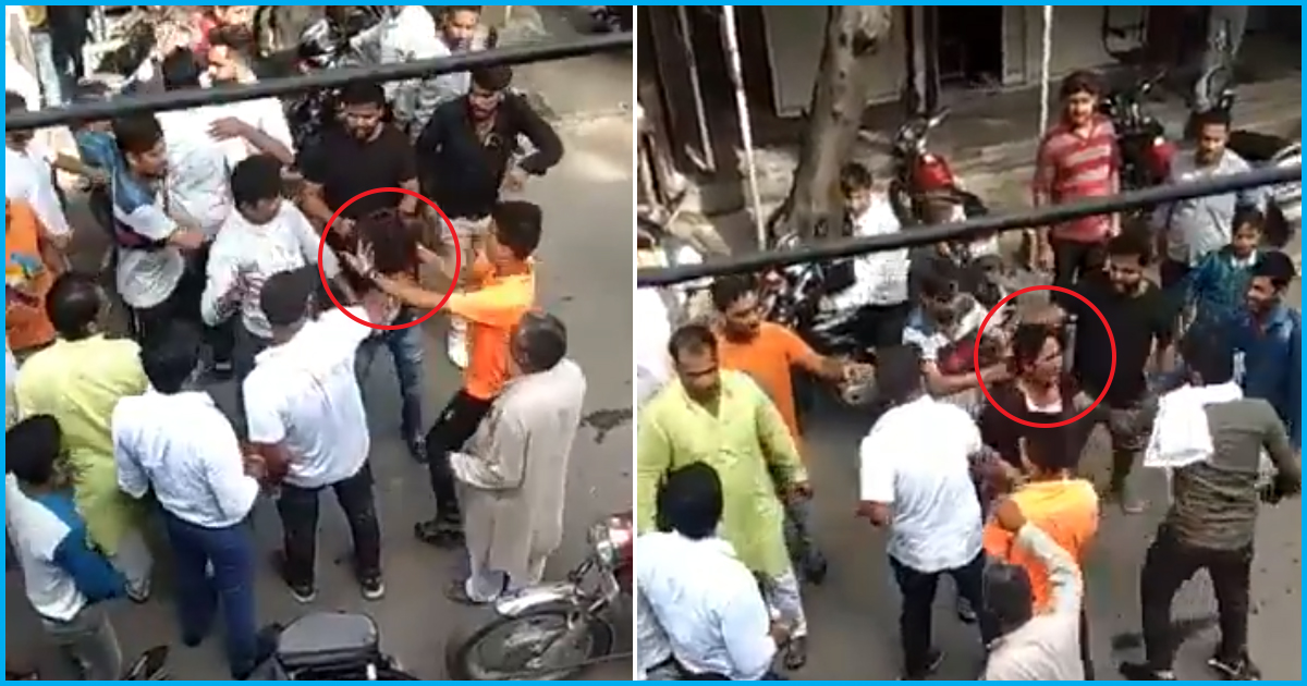 [Video] Muslim Men Beaten By Mob In Court Premises For Wanting To Marry A Hindu Woman