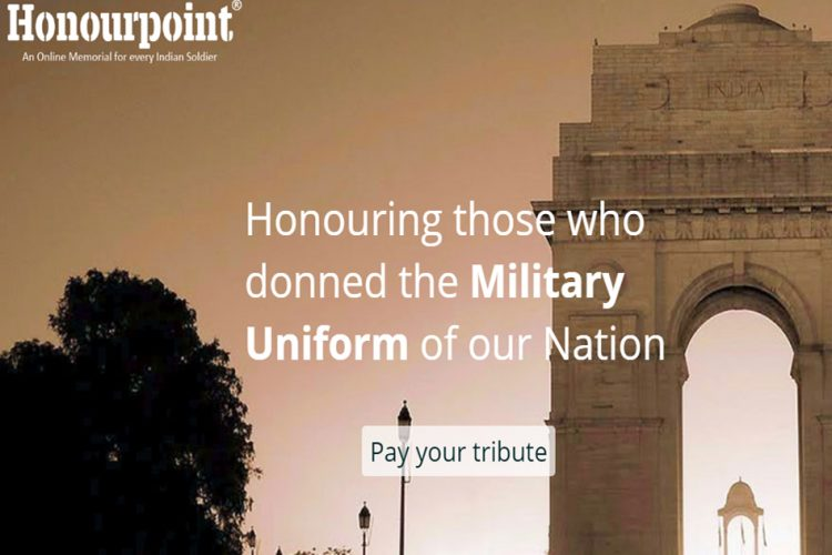Website Honours Military