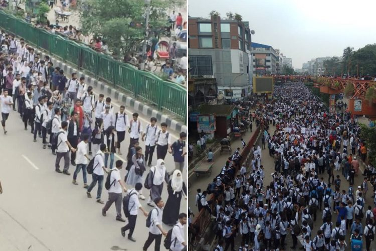 Bangladesh Students Protest