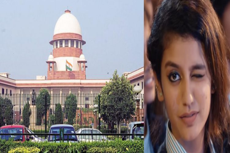Priya Varrier Supreme Court