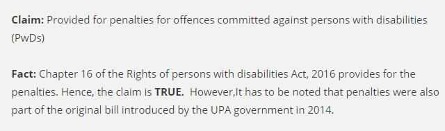 Government Disabilities Act